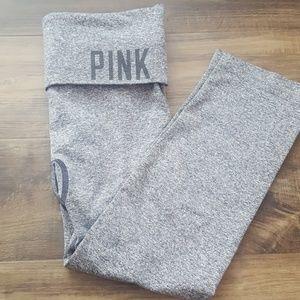 VS PINK Spandex Grey Ankle Leggings